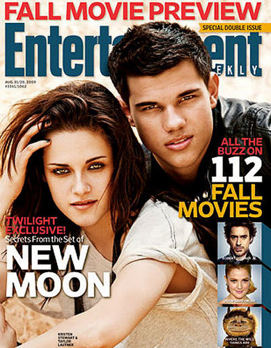 Taylor Lautner and Kristen Stewart Cover 'Entertainment Weekly'