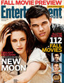 Taylor Lautner and Kristen Stewart Cover 'Entertainment Weekly' - twilight-series photo