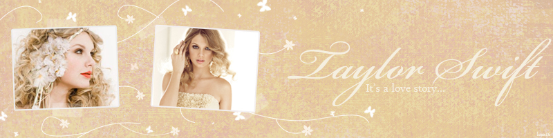 Taylor Swift is my inspiration. She is a talented, beautiful and Fearless Taylor Swift Banner