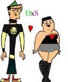 The 1st DuncanxSadie Pic Ever! - total-drama-island fan art