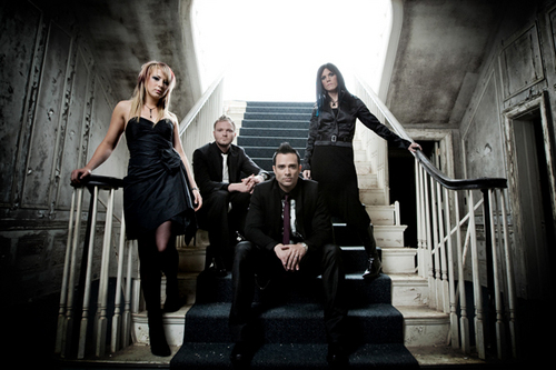 skillet 2009. skillet wallpaper containing a bannister called the band (2009) 2009 l