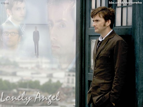 The Tenth Doctor wallpaper with a business suit and a revolving door called The Doctor