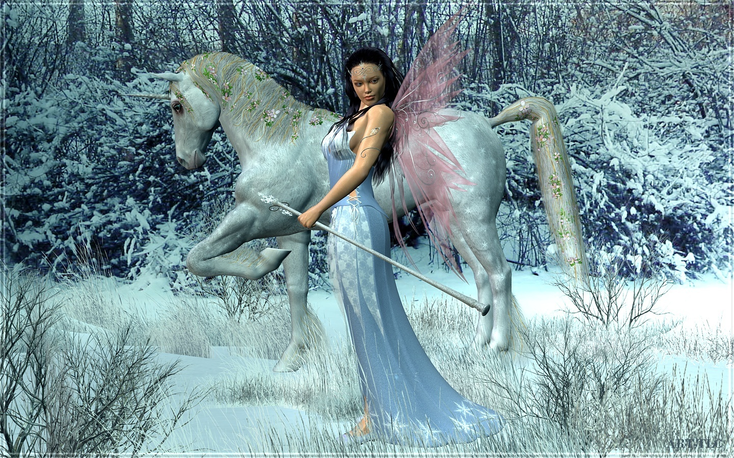 The Fairy Queen - Fantasy Wallpaper (7636280) - Fanpop