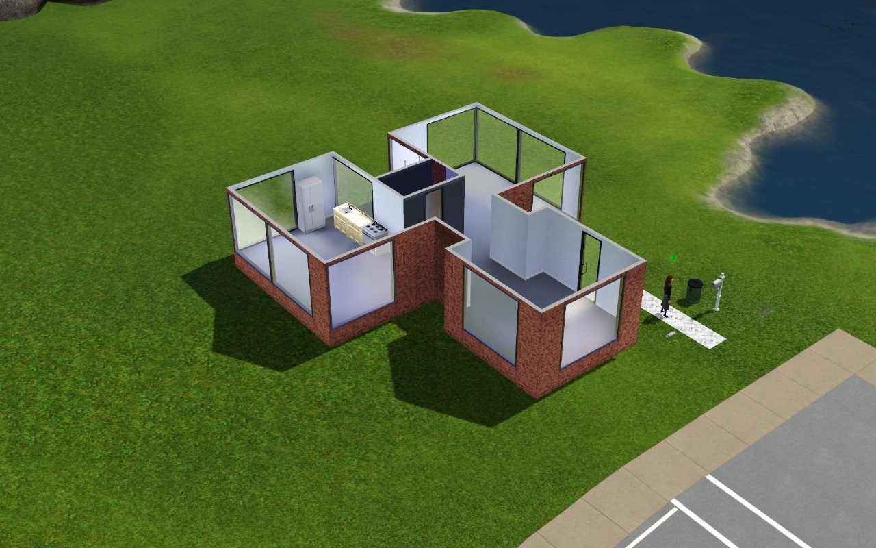 The sims 3 the sims 3 photo 7699888 fanpop for Minimalist house sims 3