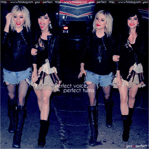 The Veronicas wallpaper containing a hip boot titled The Veronicas*