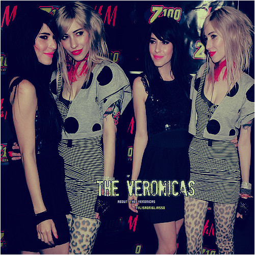 The Veronicas wallpaper probably with a hip boot, hot pants, and a playsuit titled The Veronicas*