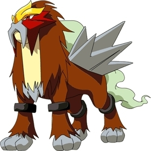The volkano beast Entei
