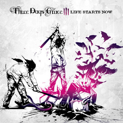 Three Days Grace wallpaper with anime entitled Third Three Days Grace Cd Cover