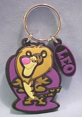 Tigger on Disney's Leo Keychain