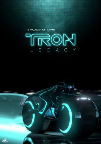 Tron Legacy Poster 디자인 Elements