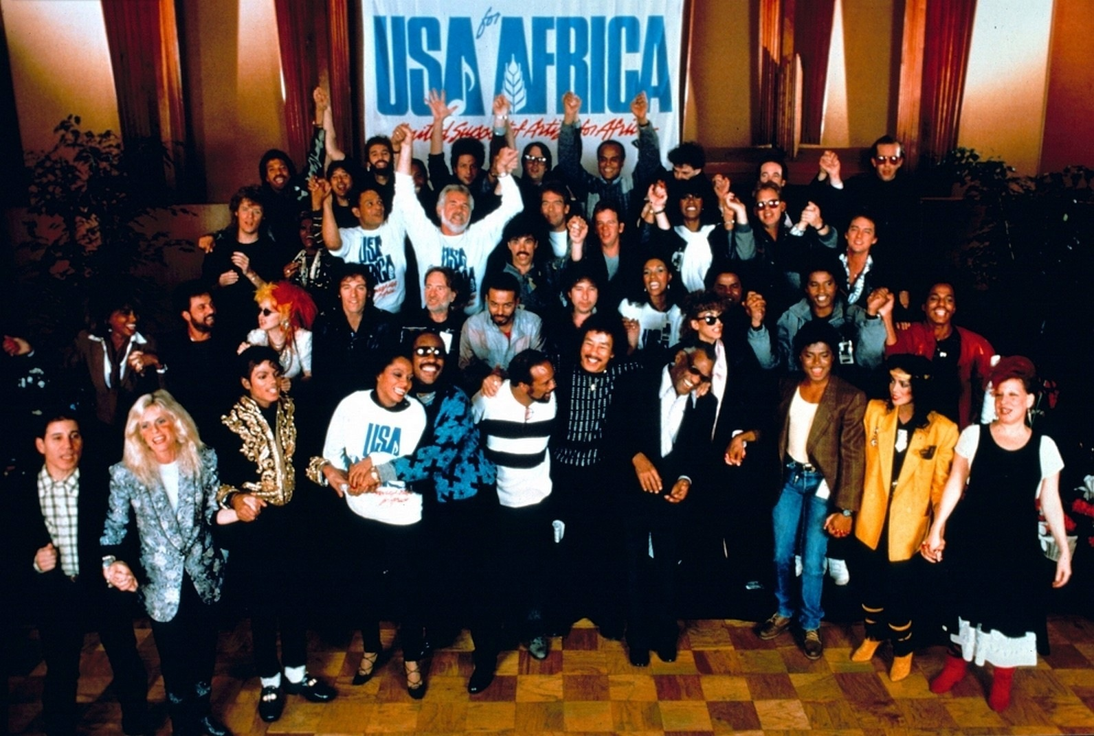 we are the world Print and download we are the world sheet music by usa for africa sheet music arranged for piano/vocal/guitar in e major (transposable) sku: mn0044490.