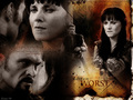 xena-warrior-princess - Xena & Ares  wallpaper