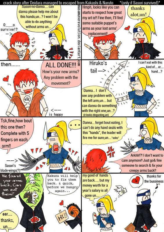Funny Akatsuki Comics #15
