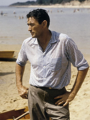 Classic Movies wallpaper probably containing a hunk entitled Gregory Peck