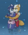 fox and krystal