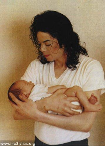 michael jackson and baby prince