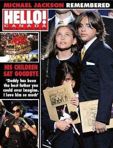 michael jackson magazine front page