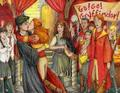 random - ginny-and-harry-v-bella-and-edward fan art