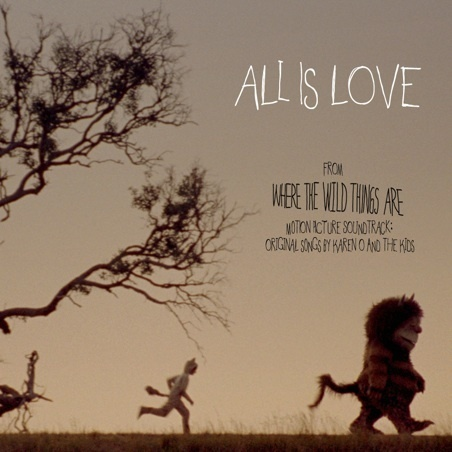 'All Is Love' ~ Cover Art for the 'Where The Wild Things Are' Movie Soundtrack