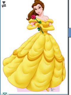 *Disney Princess Belle* Vicky