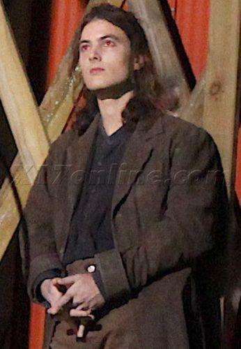 Jack Huston on the set of Eclispe
