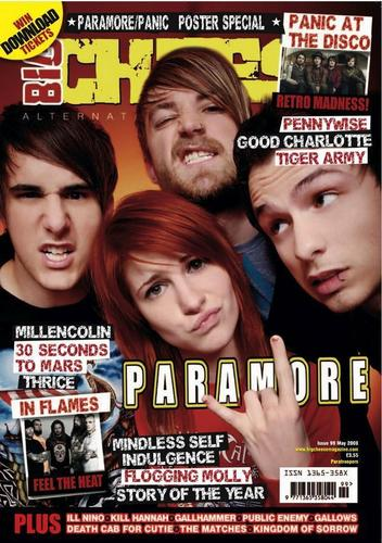 -Paramore: magazine covers-