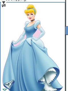 *Sylvie Amöur Disney Cinderella* Vicky