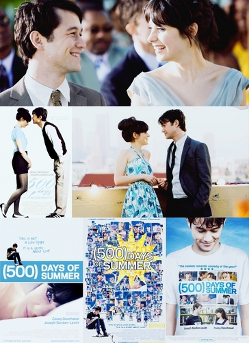 500 Days of Summer wallpaper probably containing a portrait titled 500 Days Picspam