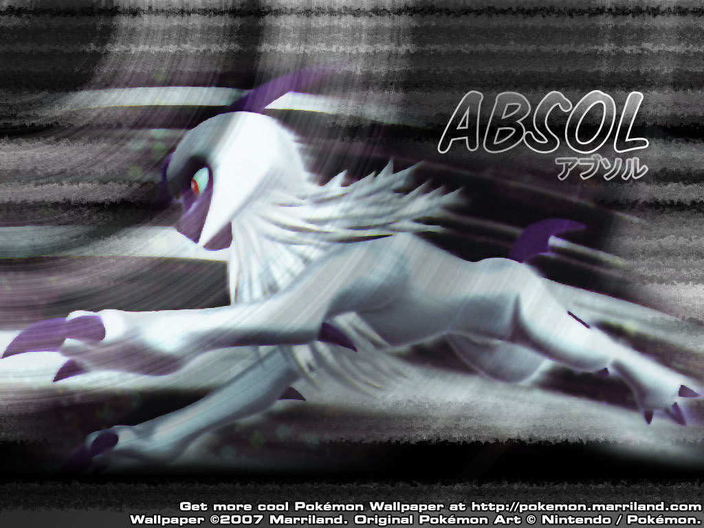 The pokemon absol images absol wallpaper hd wallpaper and background photos 7705747 - Wallpaper images ...