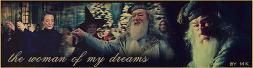 Dumbledore and Mcgonagall Banner