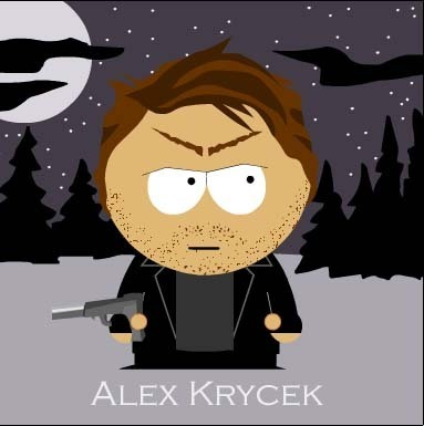 The X-Files achtergrond titled Alex Krycek