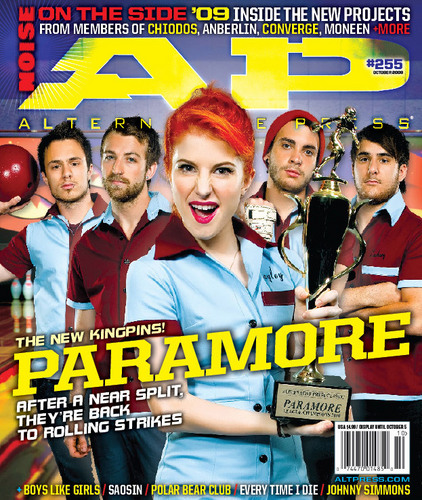 Alternative Press Cover- Paramore
