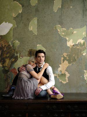Andrew Lee Potts and Hannah Spearritt