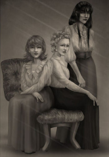Andromada, Narcissa and Bellatrix