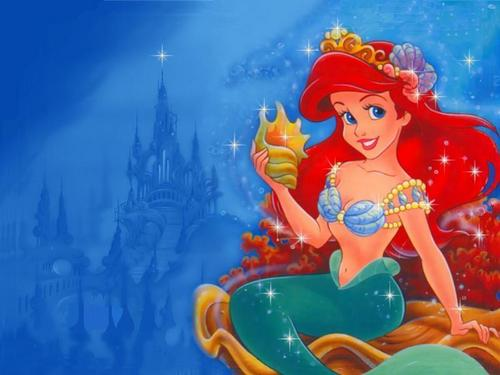 Disney Heroines wallpaper probably with anime entitled Ariel