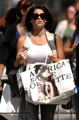 Ashley Shopping in Vancouver - 15 August, 2009