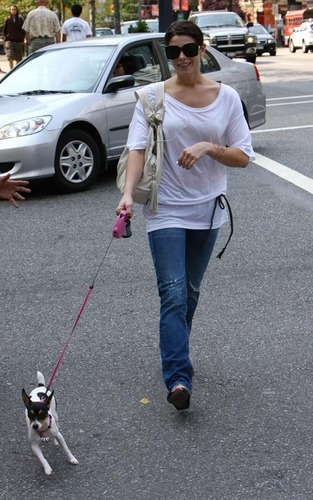 Ashley Walking Marlow in Vancouver - August 19