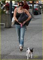 Ashley with her dog - alice-cullen photo