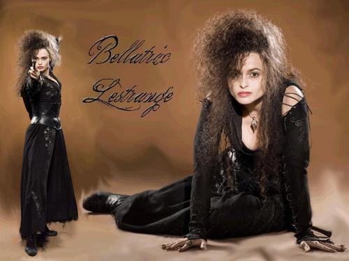 Bellatrix Lestrange hình nền with a hip boot called Bellatrix Lestrange