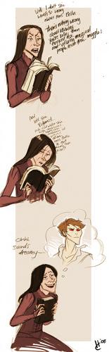 Bellatrix Likes Twilight