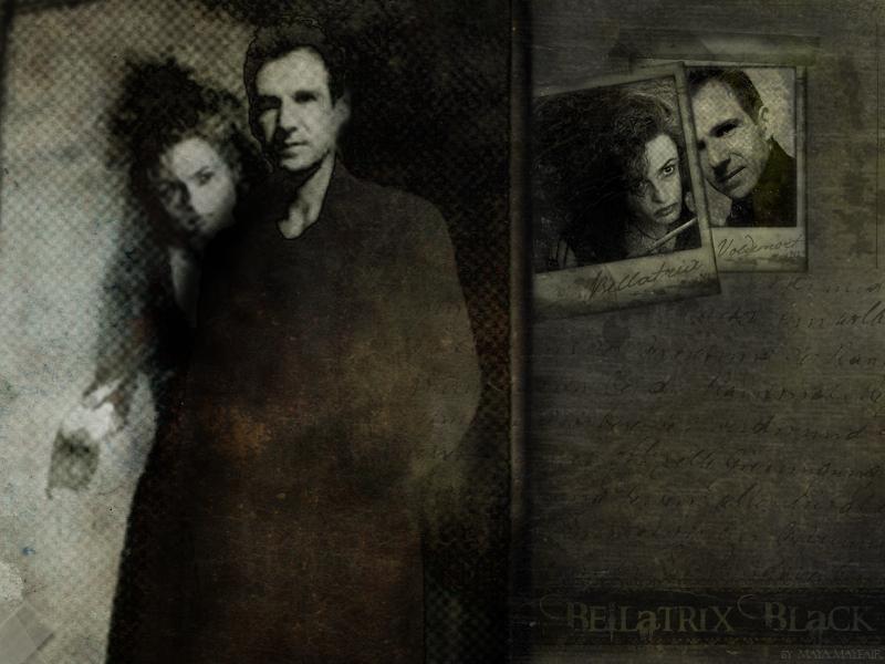 Bella and Voldemort - Bellatrix and Lord Voldemort ...