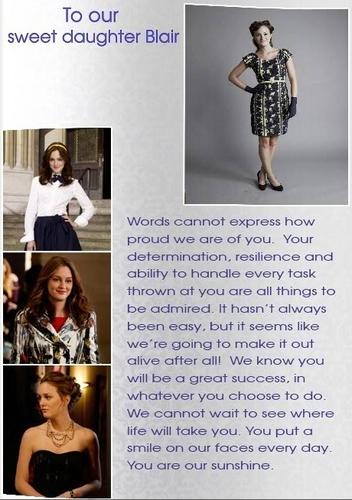 Blair Waldorf's page