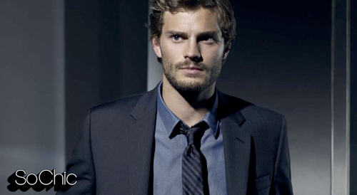Jamie Dornan wallpaper with a business suit and a suit titled Calvin Klein Ad 2009