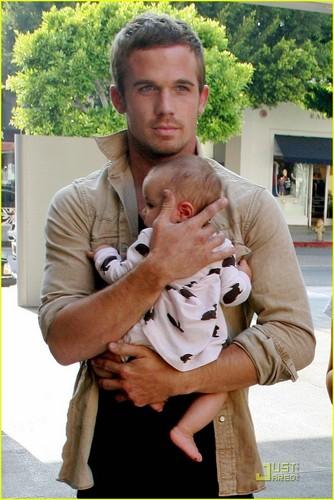 Cam Gigandet w/ baby :)