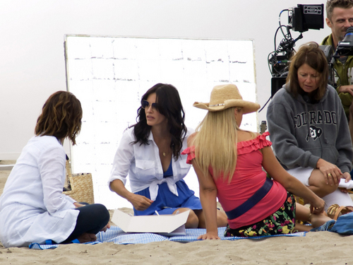 Christa Filming Cougar Town 21/8