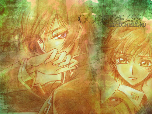 Code Geass wallpaper probably containing Anime called Code geass