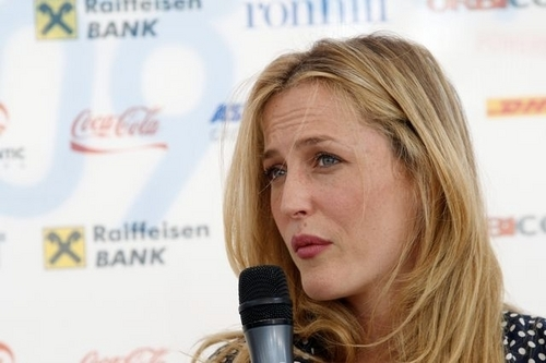 Coffee with... Gillian Anderson in Sarajevo
