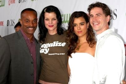 Cote with Pauley, Rocky and Brian