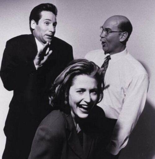 David, Gillian and Mitch