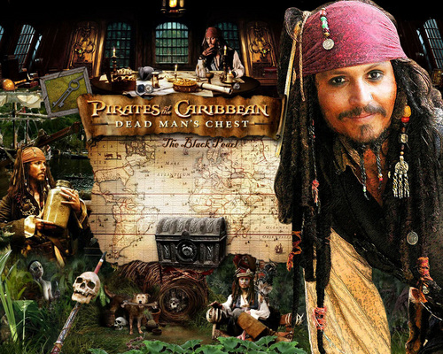 Pirates of the Caribbean wallpaper containing a street titled Dead Man's Chest